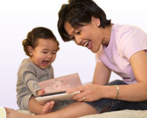Baby Book Baskets are enjoyed by parents and children.