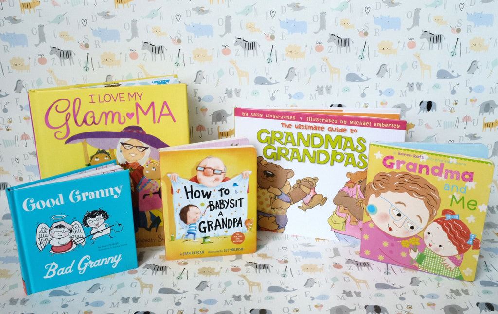 Grandparent's House Baby Book Basket