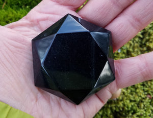 Obsidian 6 Pointed Stars
