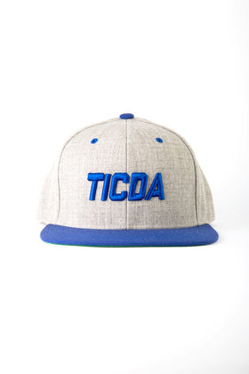 HEATHERED TICDA SNAPBACK