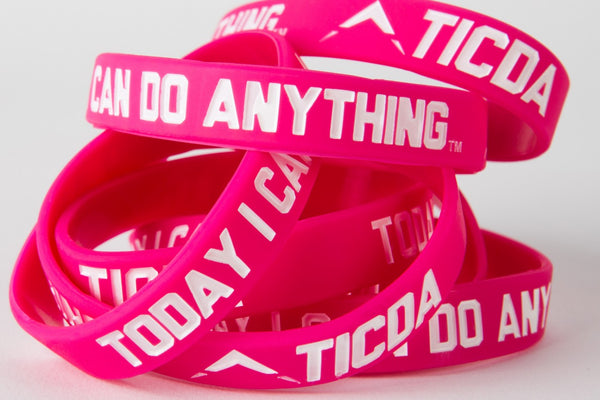 HOT PINK WRISTBAND (MEDIUM - 7 INCH)