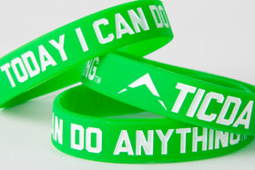 GREEN WRISTBAND (MEDIUM - 7 INCH)