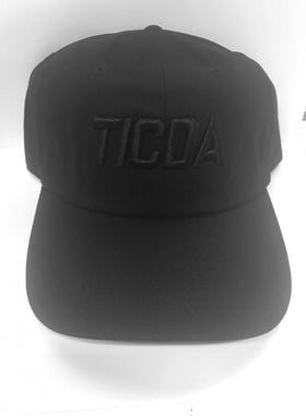 BLACK ON BLACK DADDY HAT