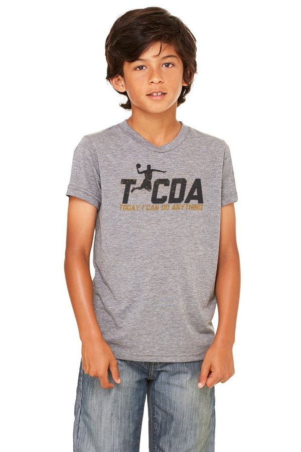 TICDA Basketball Triblend Tee