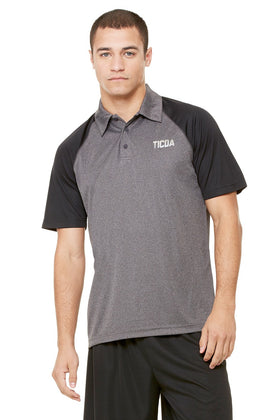 Steady Performance Raglan Polo