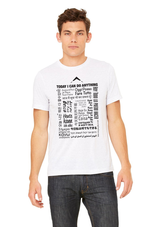 18 Language Triblend Tee