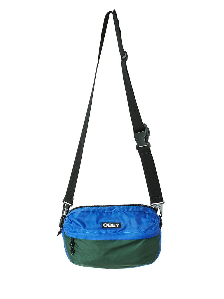 commuter traveler bag blue multi | OBEY Clothing