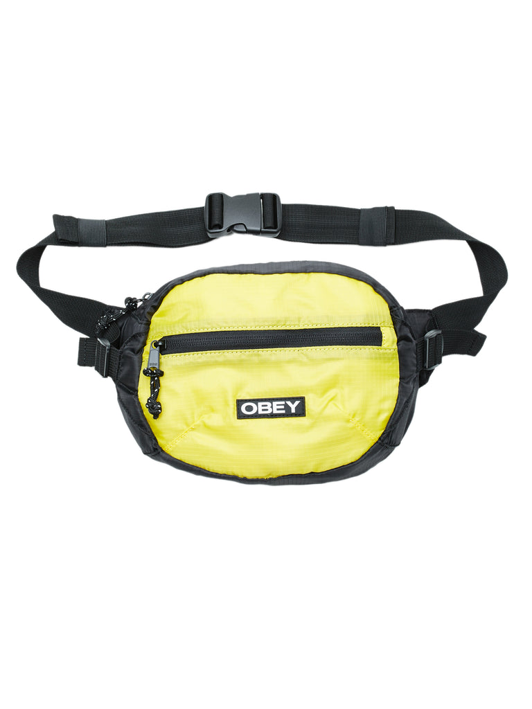 commuter waist bag black multi | OBEY Clothing
