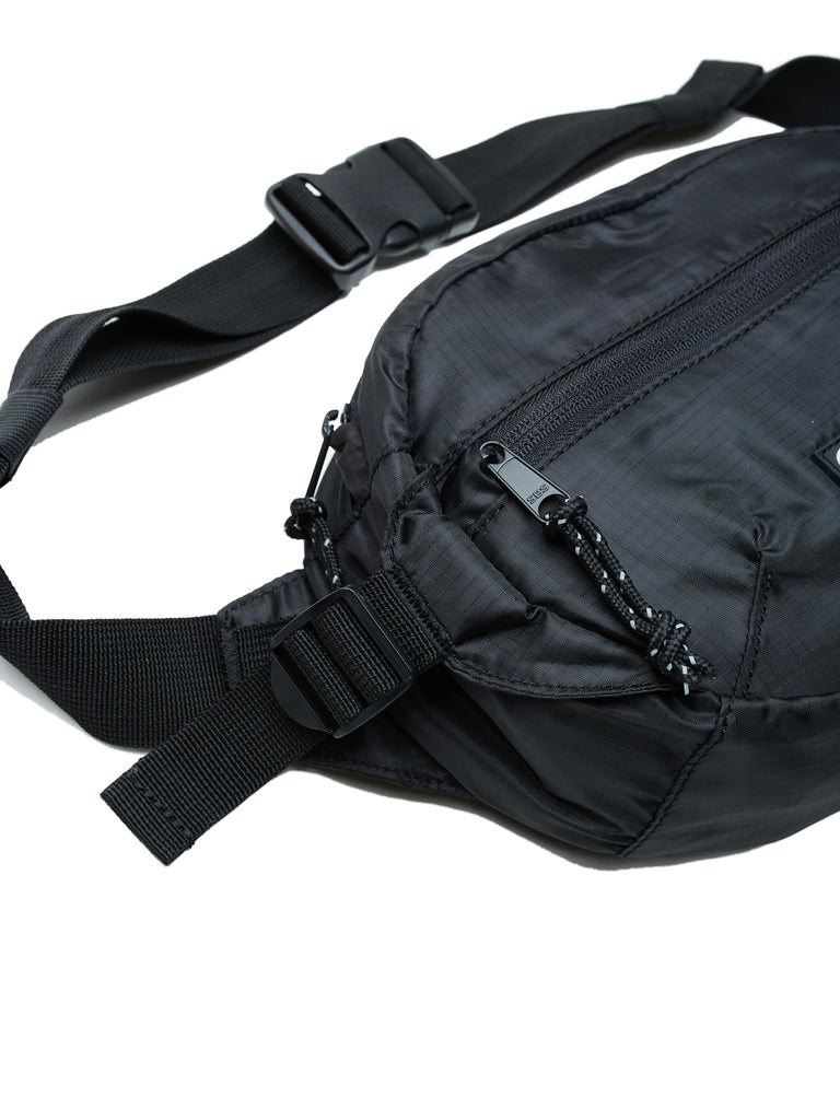 commuter waist bag black | OBEY Clothing