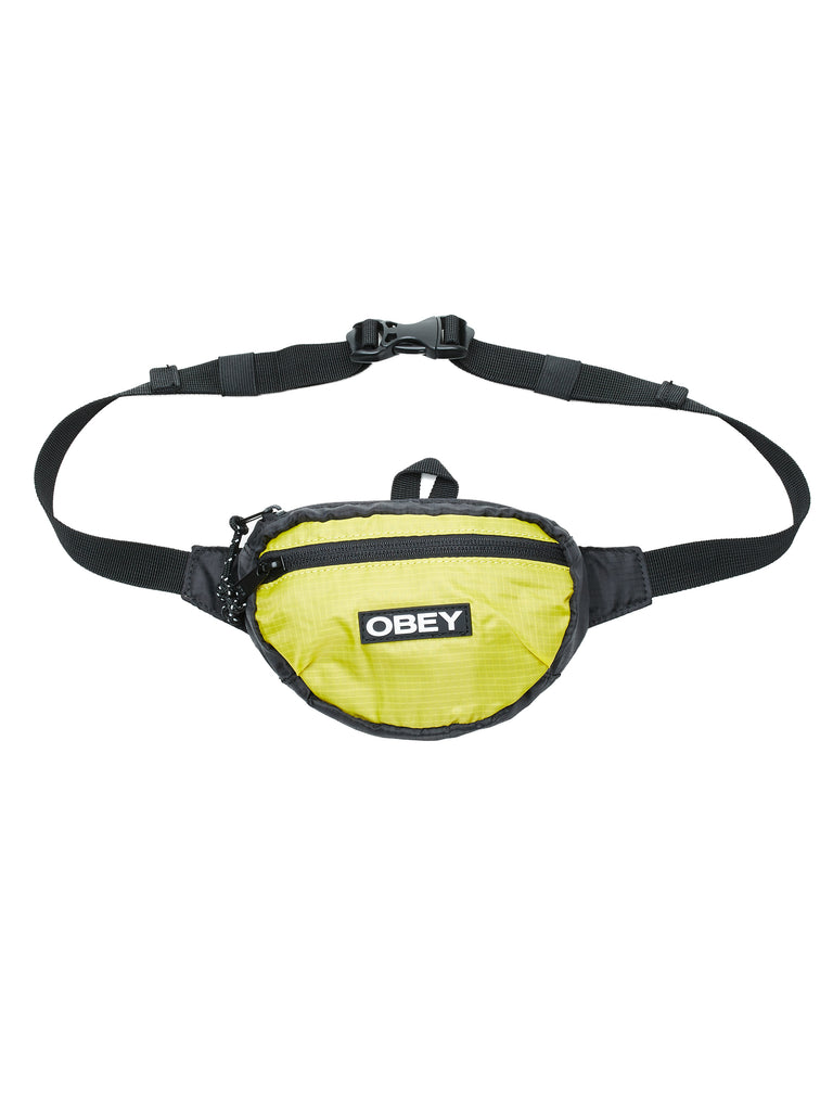 commuter waist pouch black multi | OBEY Clothing