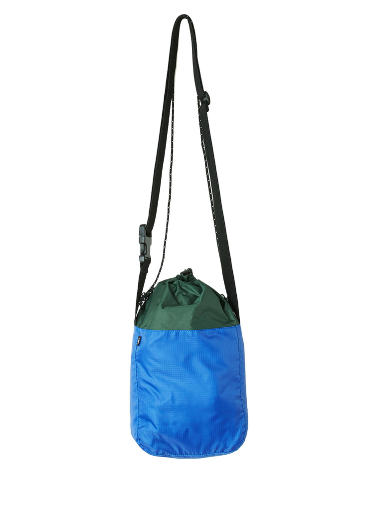 commuter cinch bag blue multi | OBEY Clothing