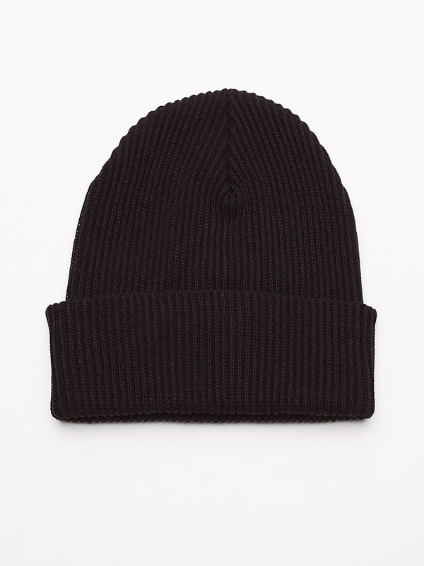 ideals organic beanie black | OBEY Clothing