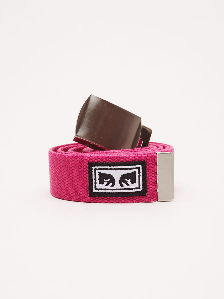 big-boy-web-belt-magenta | OBEY Clothing