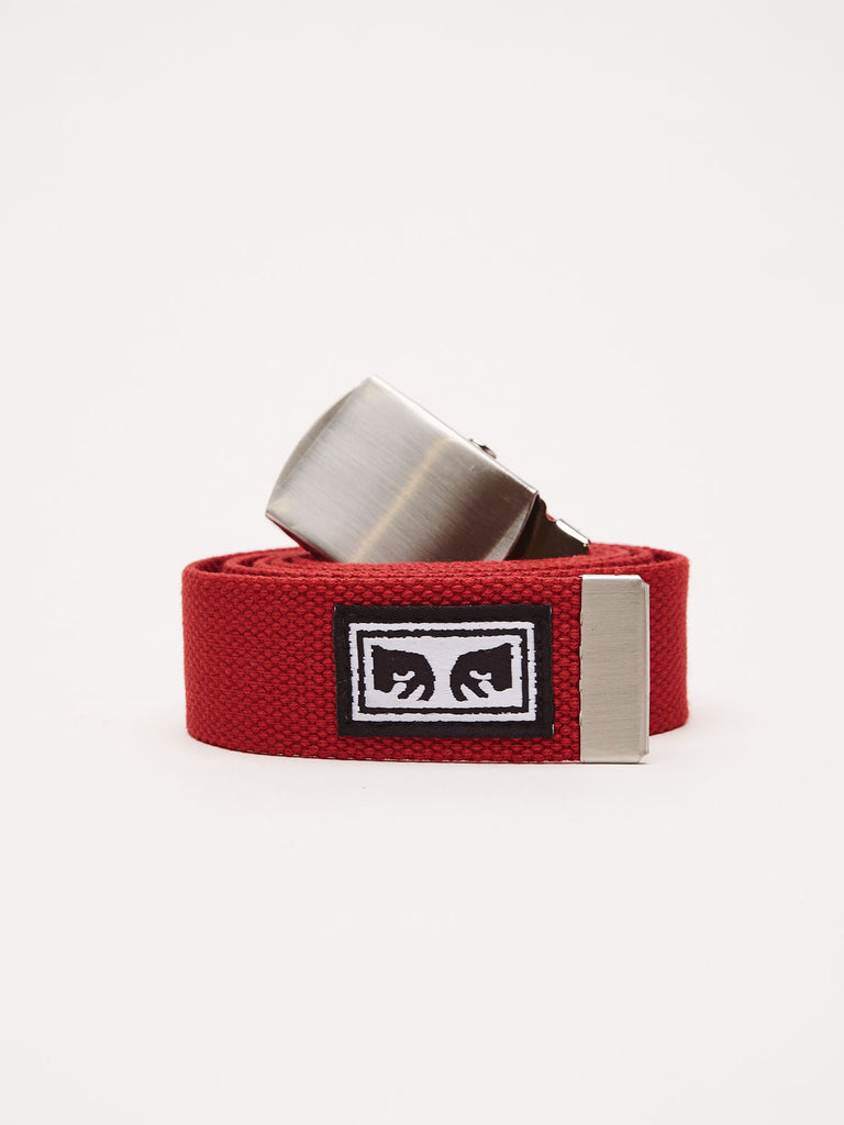 big-boy-web-belt-scarlet | OBEY Clothing