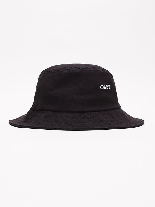 ideals organic bucket hat black | OBEY Clothing