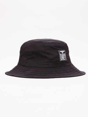 icon eyes bucket hat black | OBEY Clothing