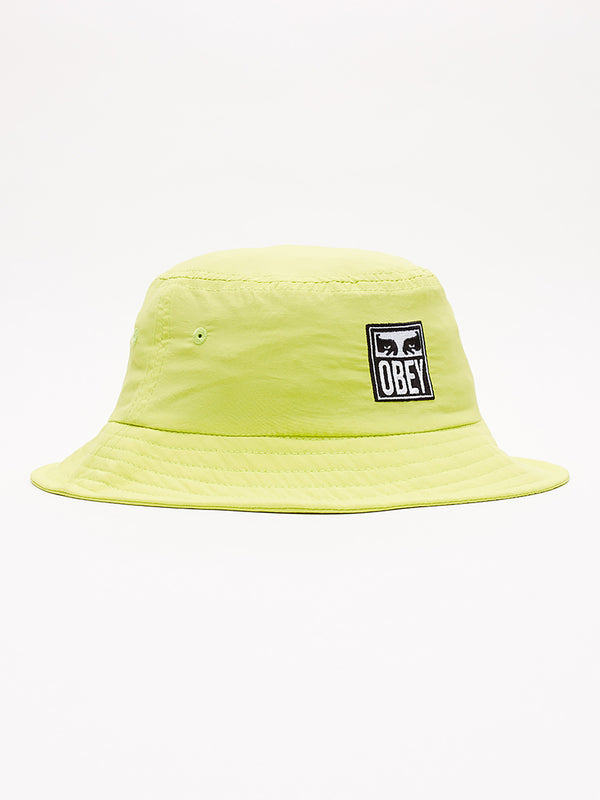 icon eyes bucket hat key lime | OBEY Clothing