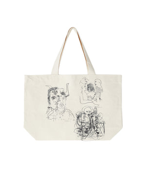 the golem his friends tote natural | OBEY Clothing