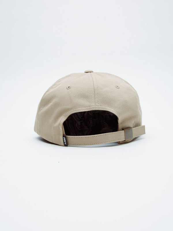 highland strapback pale khaki | OBEY Clothing