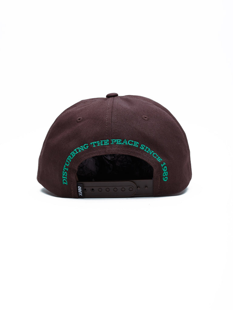 dtp snapback brown | OBEY Clothing