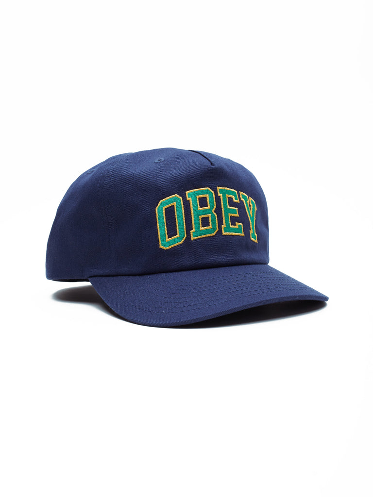 dtp snapback navy | OBEY Clothing