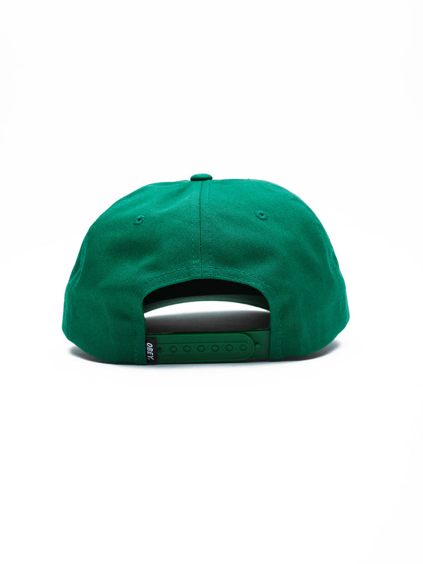 salin snapback green | OBEY Clothing