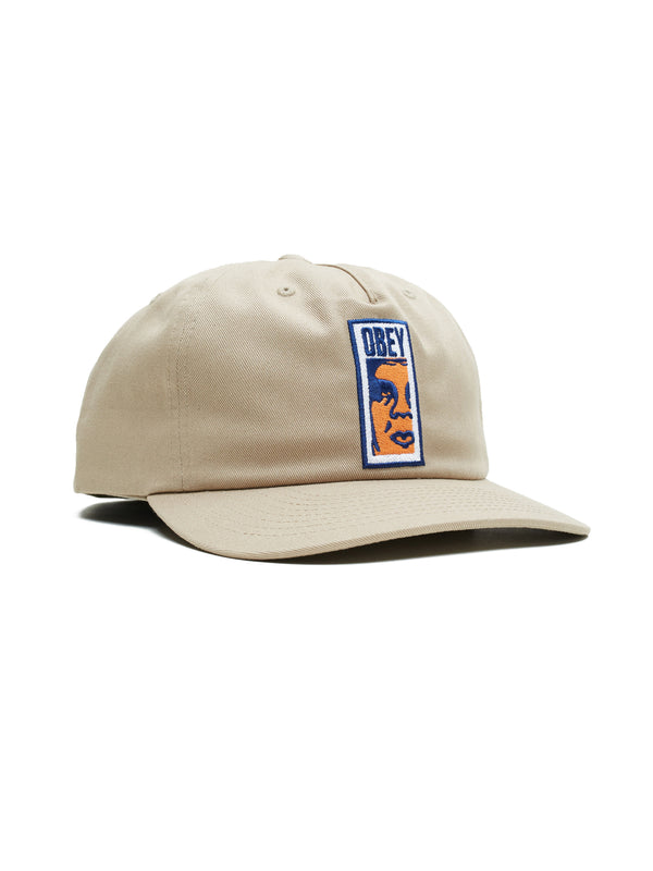 giant strapback khaki | OBEY Clothing