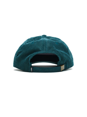 higher strapback dark teal | OBEY Clothing