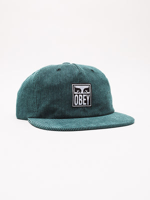 vanish strapback emerald | OBEY Clothing
