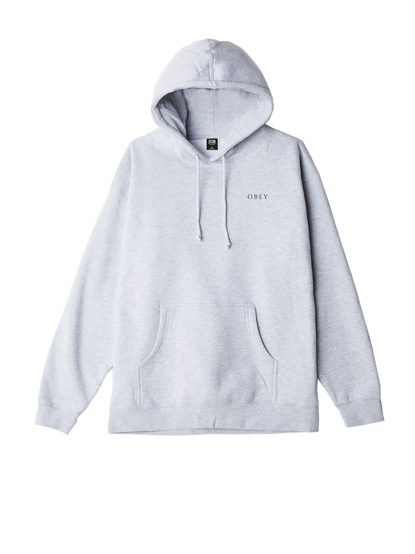obey royal treatment hood ash grey | OBEY Clothing