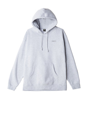 obey 3 face collage hood ash grey | OBEY Clothing