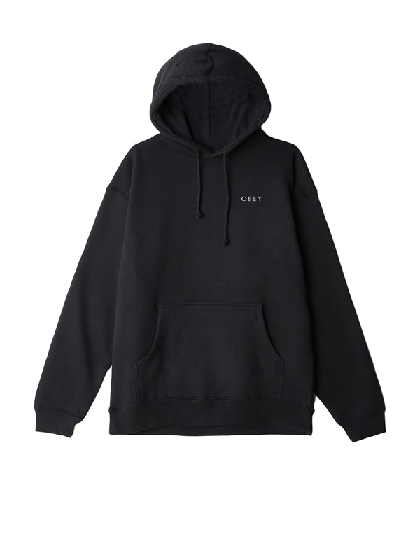 obey 3 face collage hood black | OBEY Clothing
