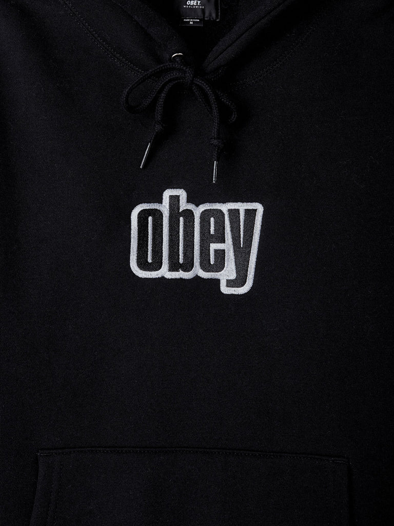 motion hood black | OBEY Clothing