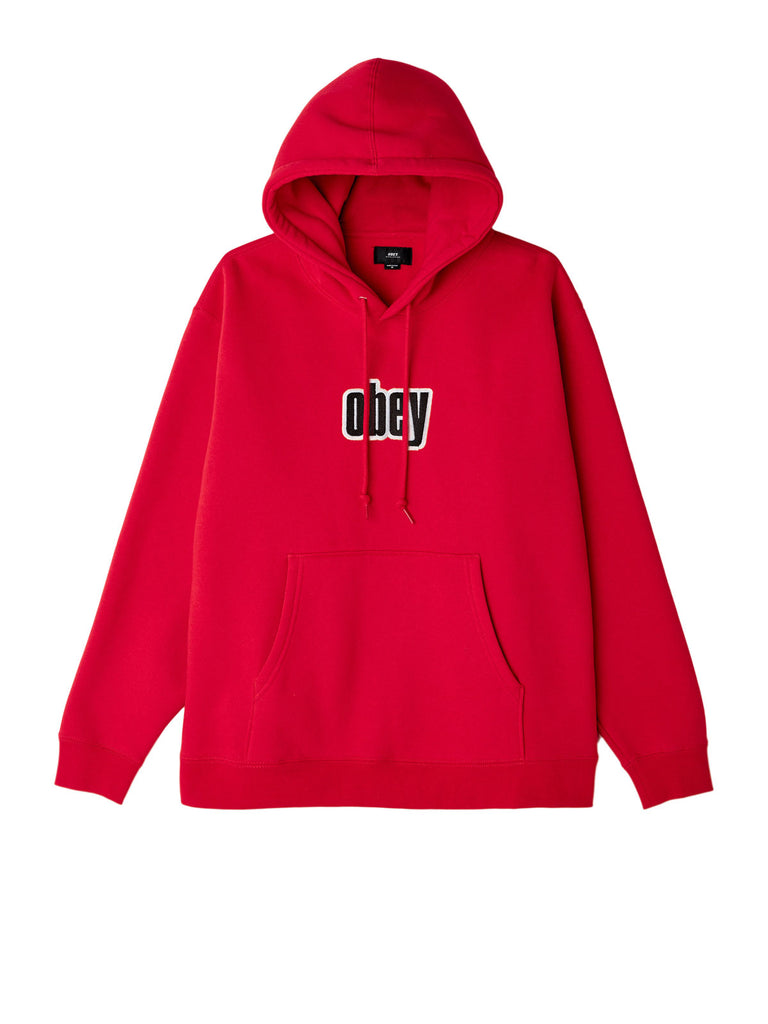 motion hood red | OBEY Clothing