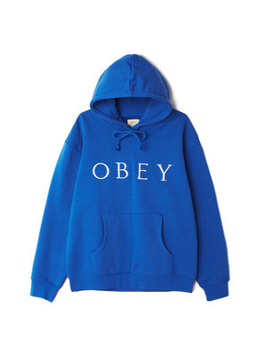 ideals sustainable logo hood royal blue | OBEY Clothing
