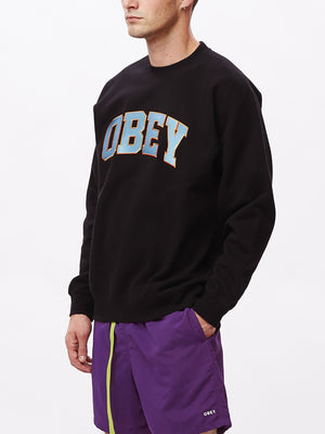 obey sports ii crew black | OBEY Clothing