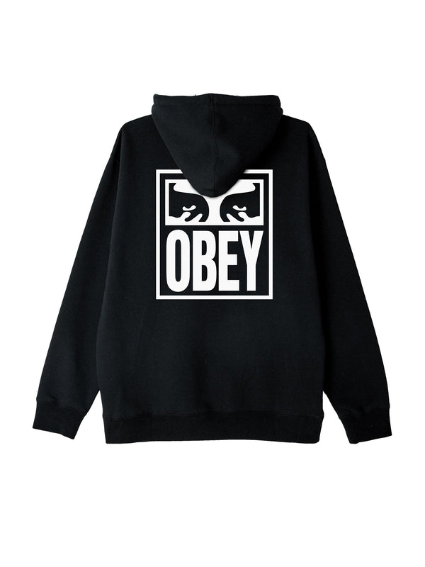 obey eyes icon hood black 1 | OBEY Clothing
