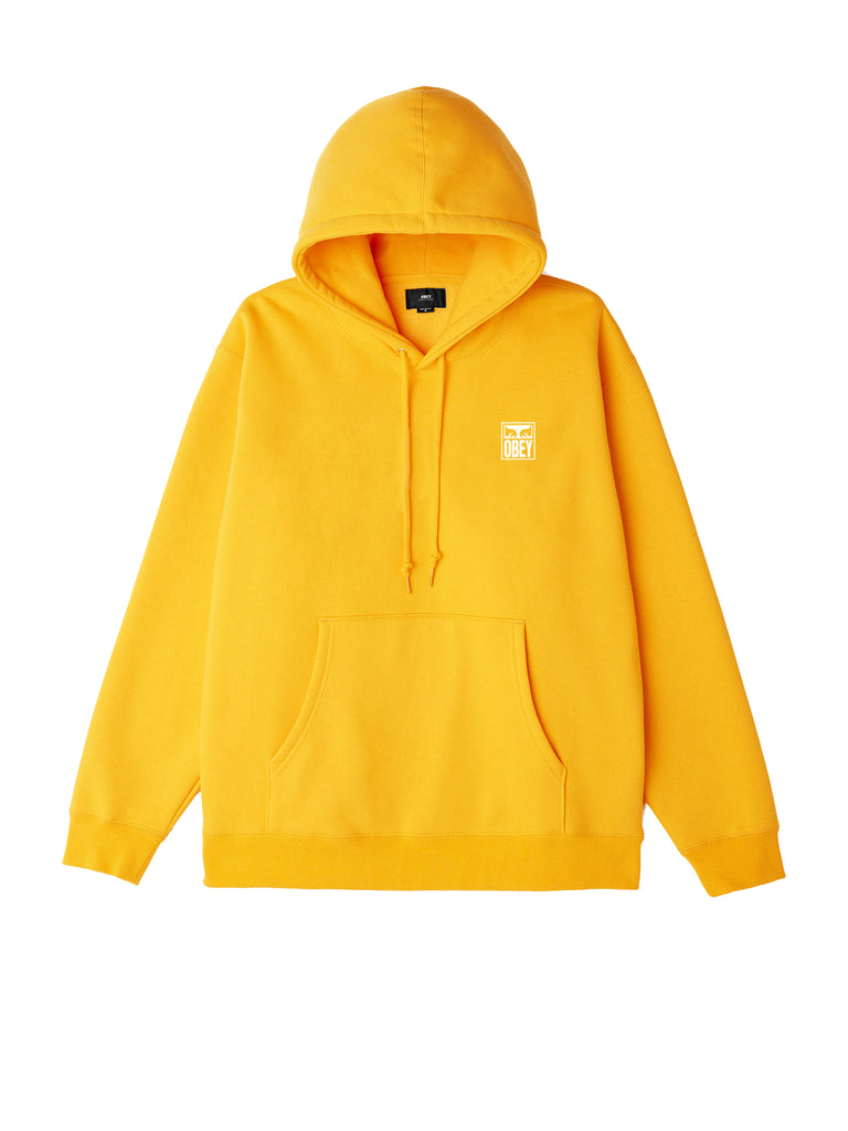obey eyes icon hood gold | OBEY Clothing
