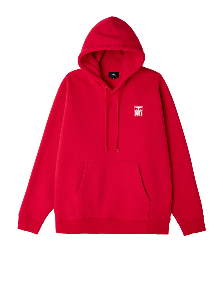 obey eyes icon hood red 1 | OBEY Clothing