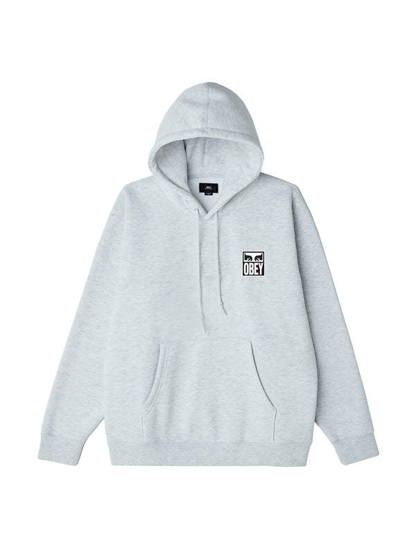 obey eyes icon 2 hood heather ash | OBEY Clothing