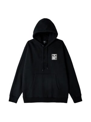 obey eyes icon 2 hood black | OBEY Clothing
