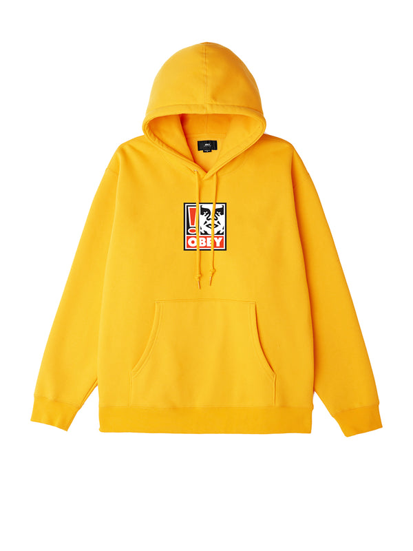 obey exclamation point hood gold | OBEY Clothing