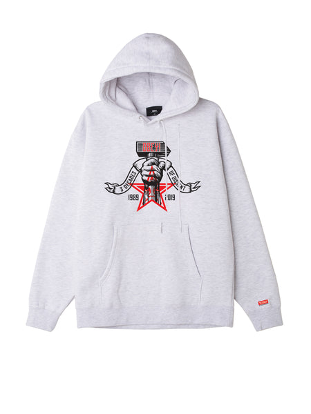 Obey 3 Decades Of Dissent Mens Hood | OBEY Clothing