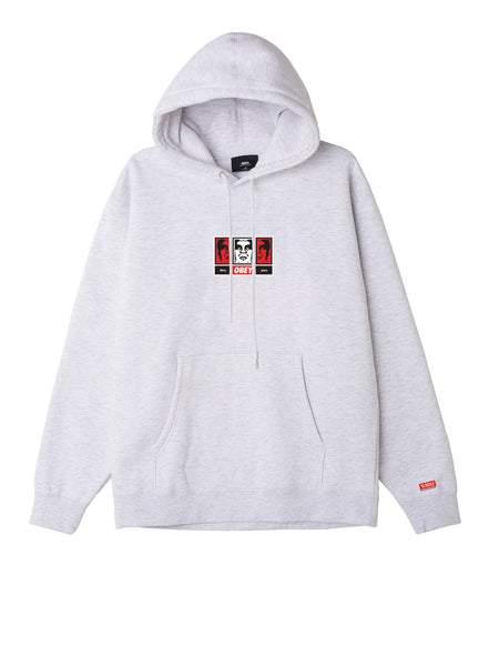 Obey 3 Faces 30 Years Mens Hood | OBEY Clothing