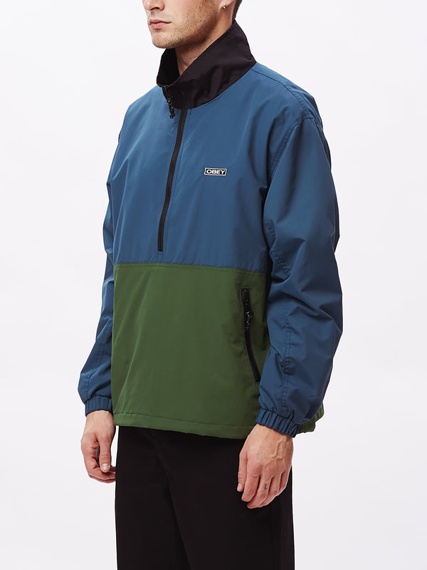 the tucker anorak sapphire multi | OBEY Clothing
