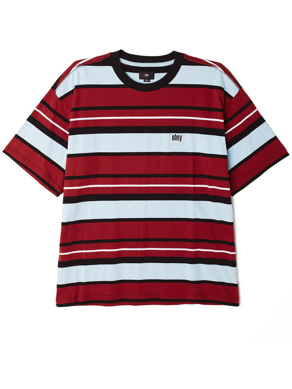 roll call tee ss brick multi | OBEY Clothing