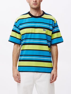 roll call tee ss lime multi | OBEY Clothing