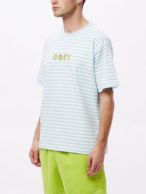 buggs tee ss sky blue multi | OBEY Clothing