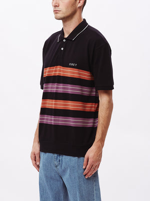 casa polo ss black multi | OBEY Clothing