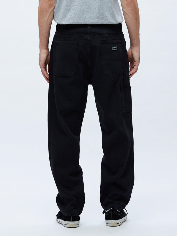 hardwork denim dusty black | OBEY Clothing